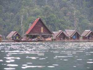 Floating Raft Houses